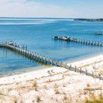 Piers on Virginia Shoreline