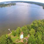 Piankatank River aerial view