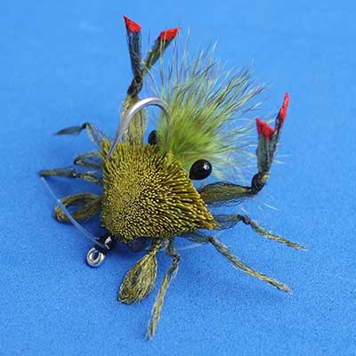 Fishing fly tying sample