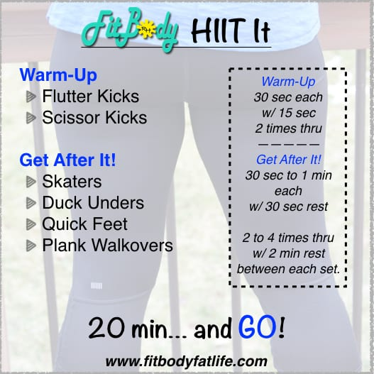HIIT Fitness Workout