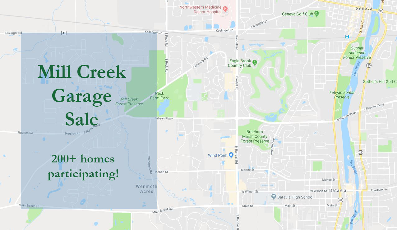 Map of MILL CREEK-with-highlighted-area