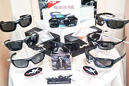 Wiley X Eye Wear Display Table at Wohl