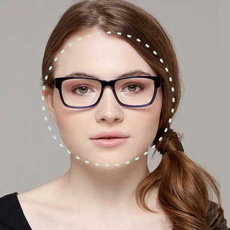 Round Face Shape Eyeglasses