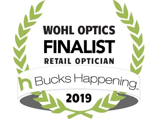 Bucks County Happening 2019 Optician Finalist Wohl Optics