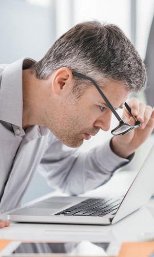 Blurry Vision Eyesight Problems Needs Eye Exam