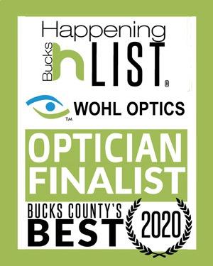 Award 2020 Bucks County Happening Finalist - Retail Optician