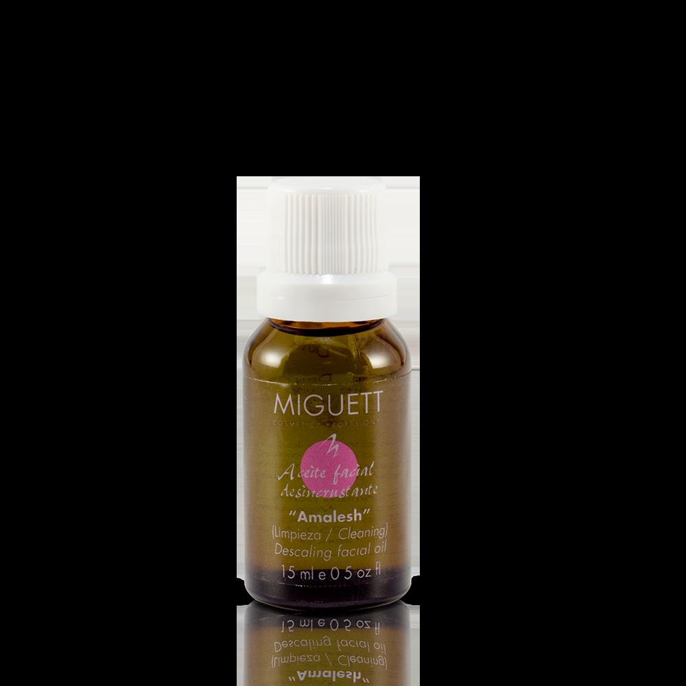 Aceite Amalesh desincrustante herbal Cuarzo Rosa (Gemology deluxe)