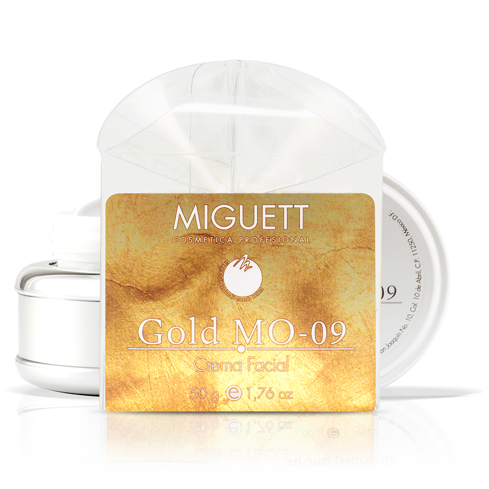 Crema Gold MO 09 (Luxury 24 kilates)