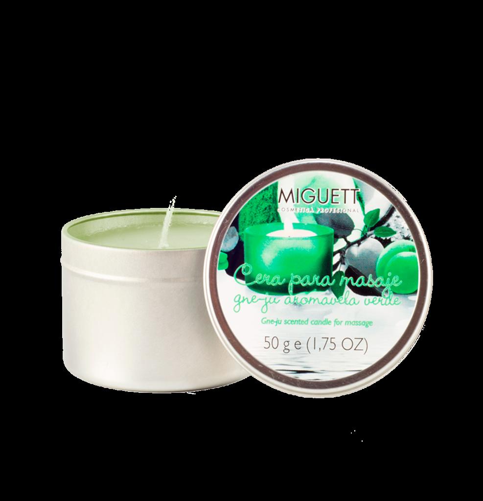 Aromavela Verde (aceite caliente para masaje)