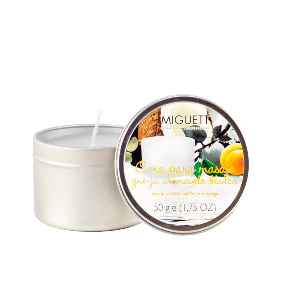 Aromavela Blanca (aceite caliente para masaje)