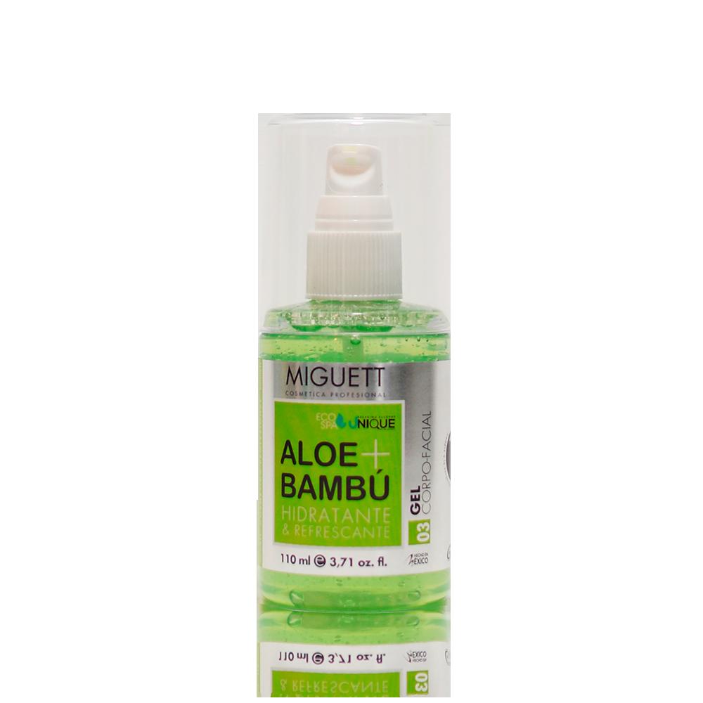 Gel Corpo - facial Aloe & Bambú Hidratante & refrescante