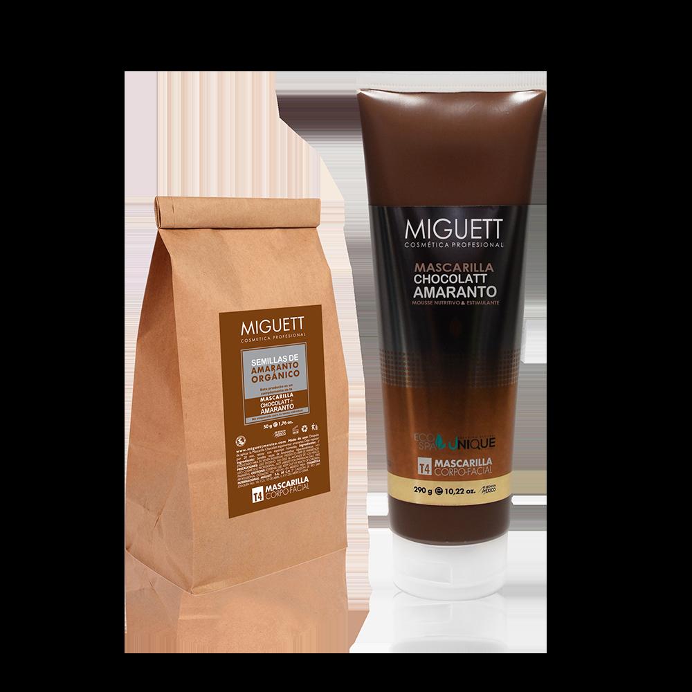 Mascarilla Chocolatt + Amaranto (Mousse nutritivo y estimulante)