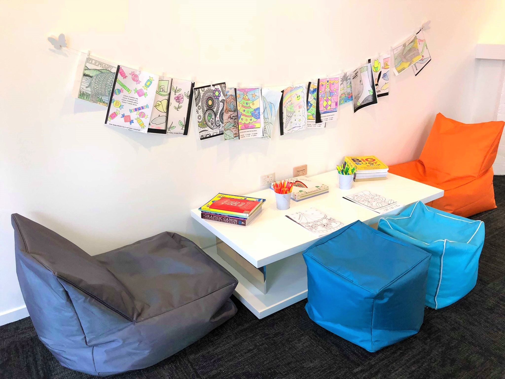 Children's area at Orthodontist and Periodontist at Lithgow Valley Smiles