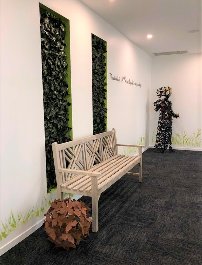 Reception area at Orthodontist and Periodontist at Lithgow Valley Smiles