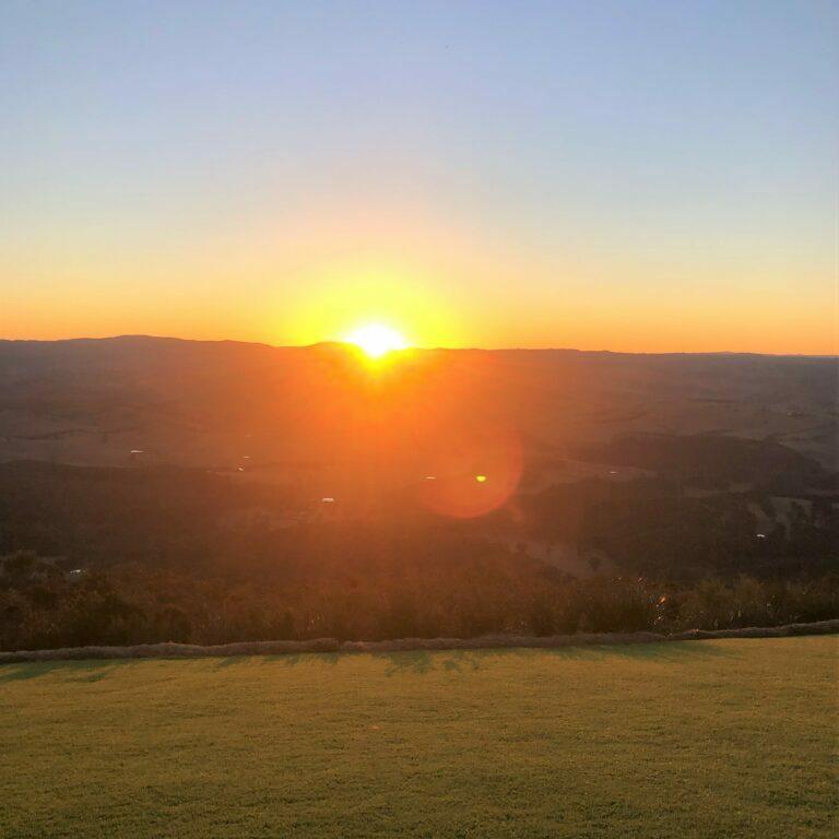 Sunrises and Sunsets at Blackheath can be breathtaking