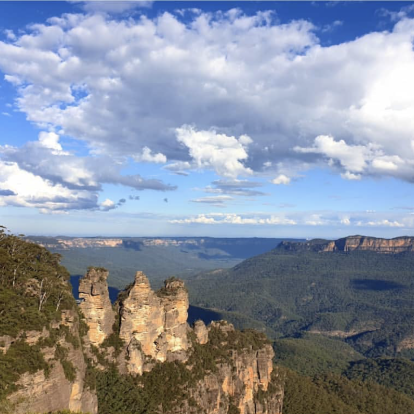 It can be nowhere else but Katoomba