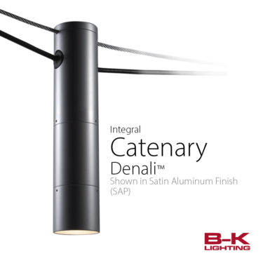 B-K Lighting New Product Release – Catenary
