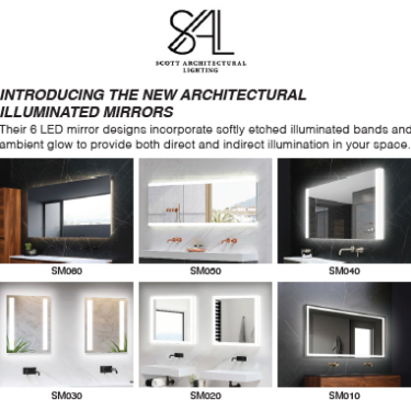 Scott Architectural Lighting- Introducing Architectural Illuminated Mirrors