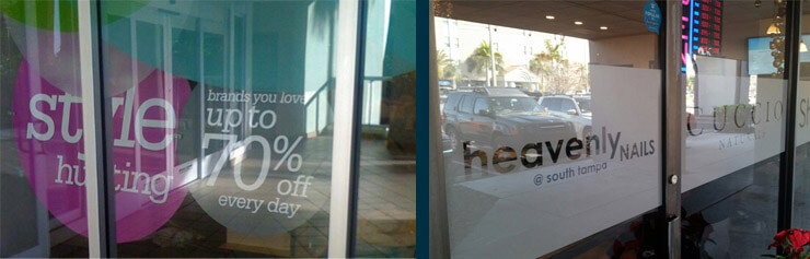 Tampa Decorative Window Tinting, Branding Film, Sarasota