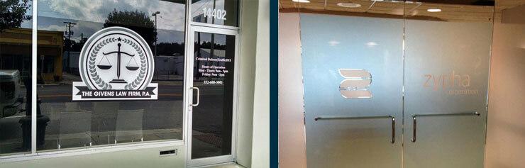 Tampa Decorative Window Tinting, Branding Film, Sarasota