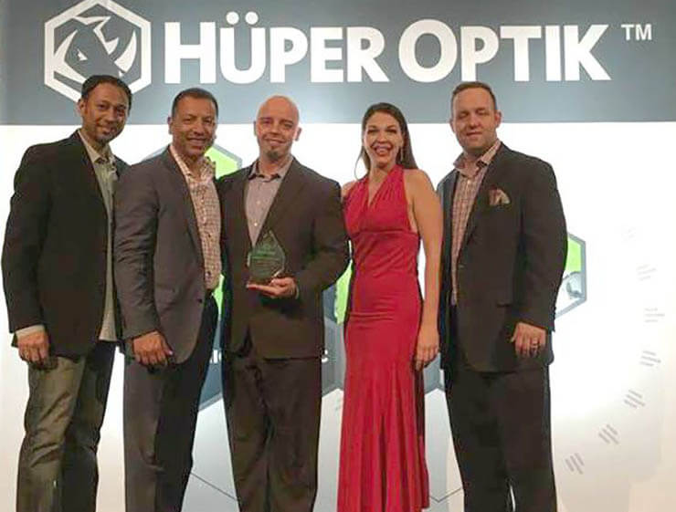 Huper Optik Dealer of the Year Florida 2015