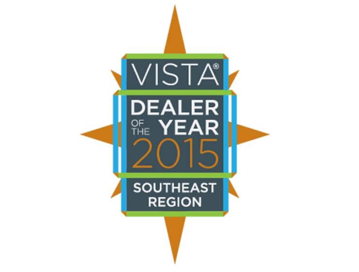 2015 VISTA DEALER OF THE YEAR SW Region
