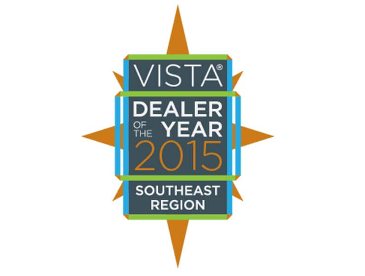 2015 VISTA DEALER OF THE YEAR SW Region