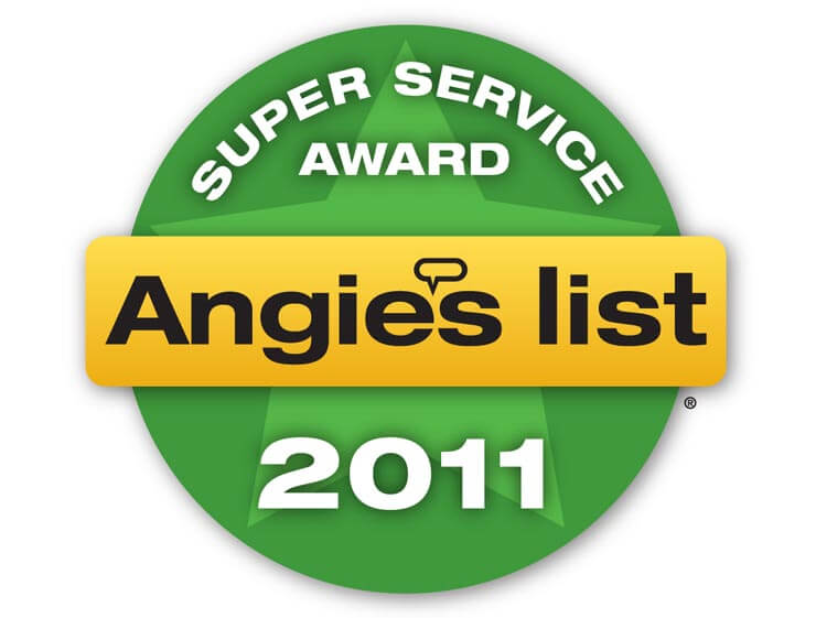 2011 Angie's List Super Service Award Winner