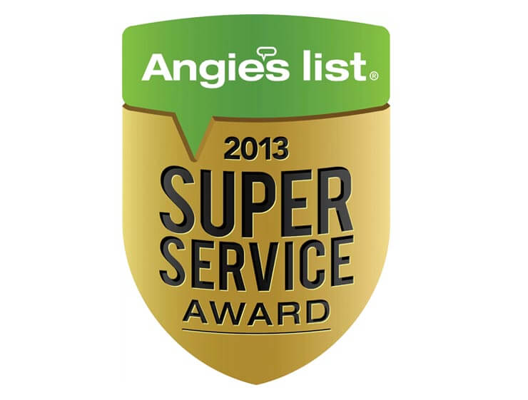 2013 Angie's List Super Service Award Winner