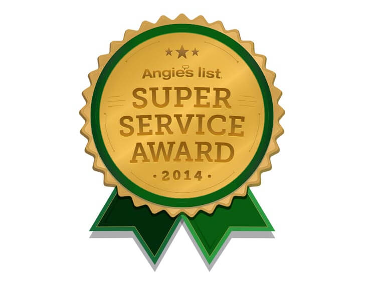 2014 Angie's List Super Service Award Winner