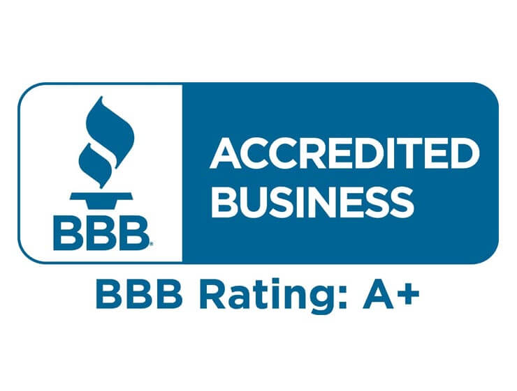A+ Rating from Better Business Bureau