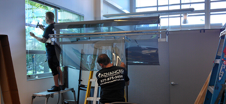Commercial Window Film Tinting Tampa