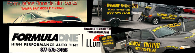 Tampa Mobile Window Tinting - Auto Car Fleet Tint