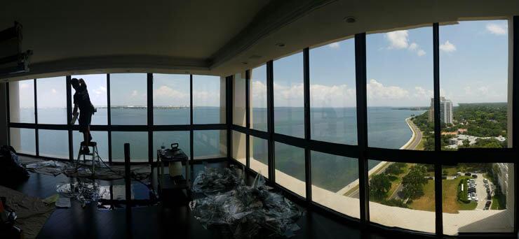 Condo Window Tinting for Greater Tampa Bay, Sarasota-Bradenton and Orlando