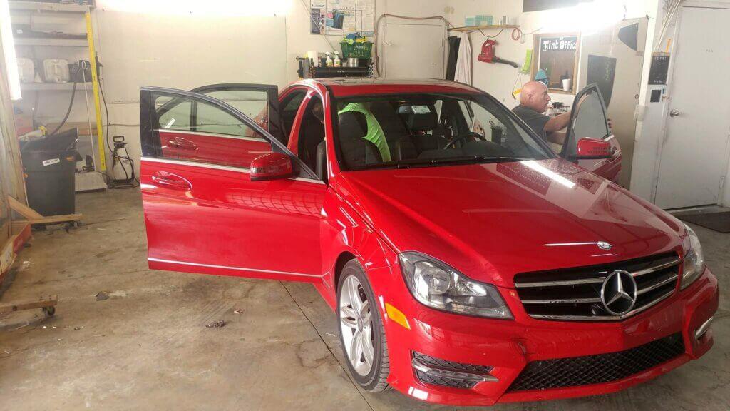 Getting Tampa Car Tinting