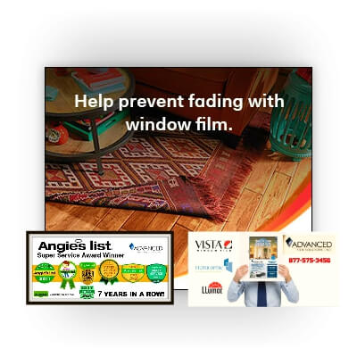 UV window film