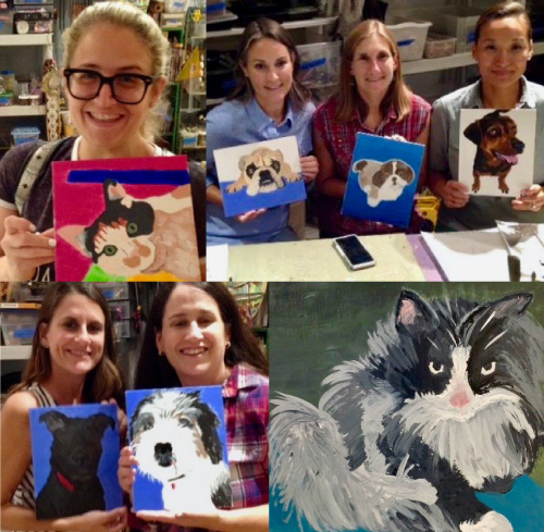 Paint Your Pet's Portrait Workshop BYOB, $35 @ Sweet Mabel Studio | Narberth | Pennsylvania | United States