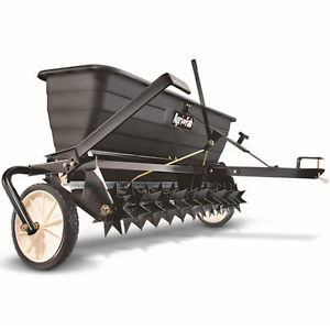 Rental aerator seeder