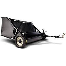 rental lawn sweeper