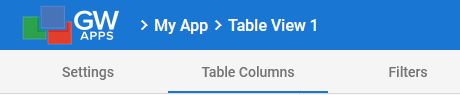 View Editor Tabs