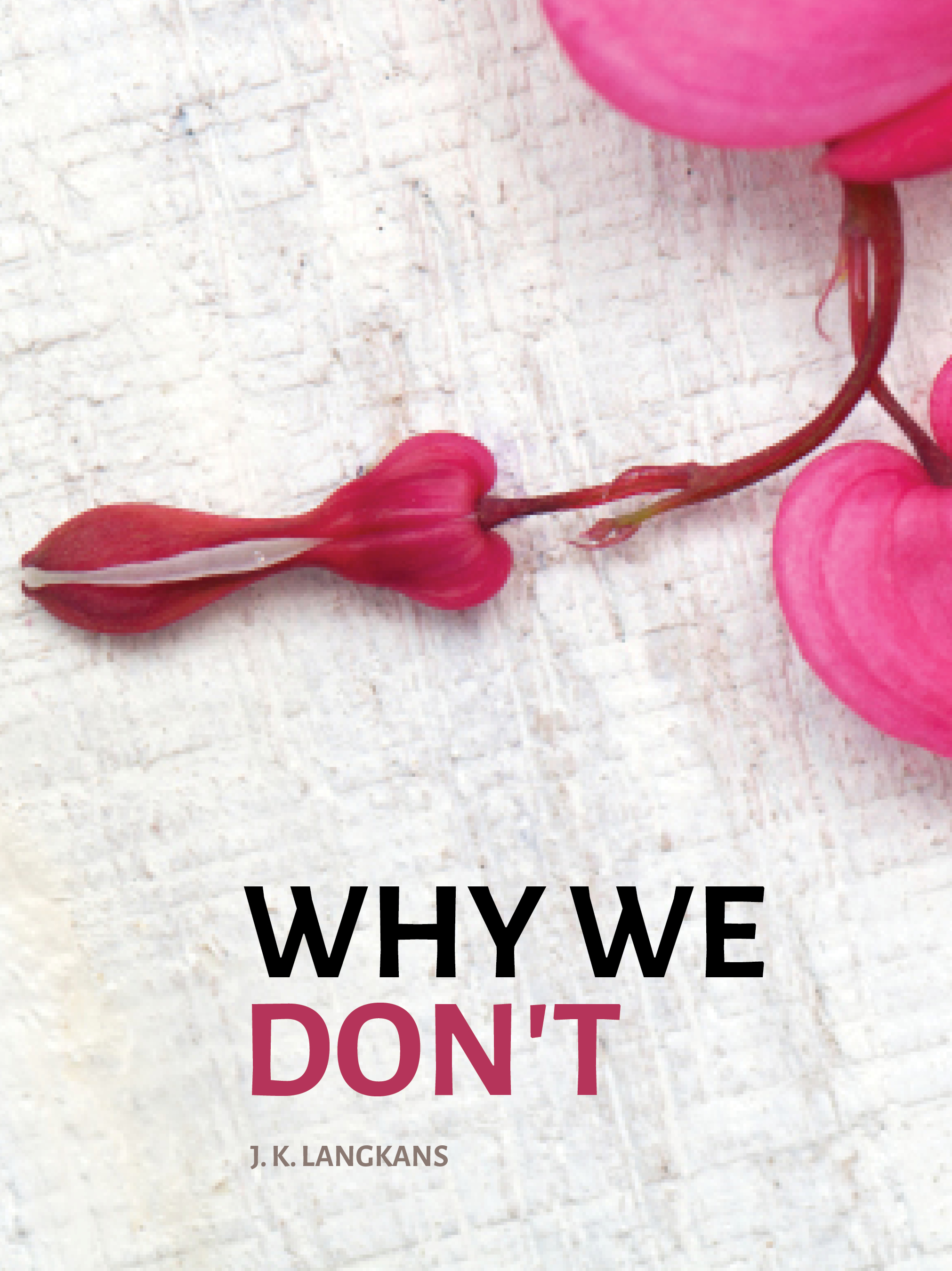 why we don't book cover