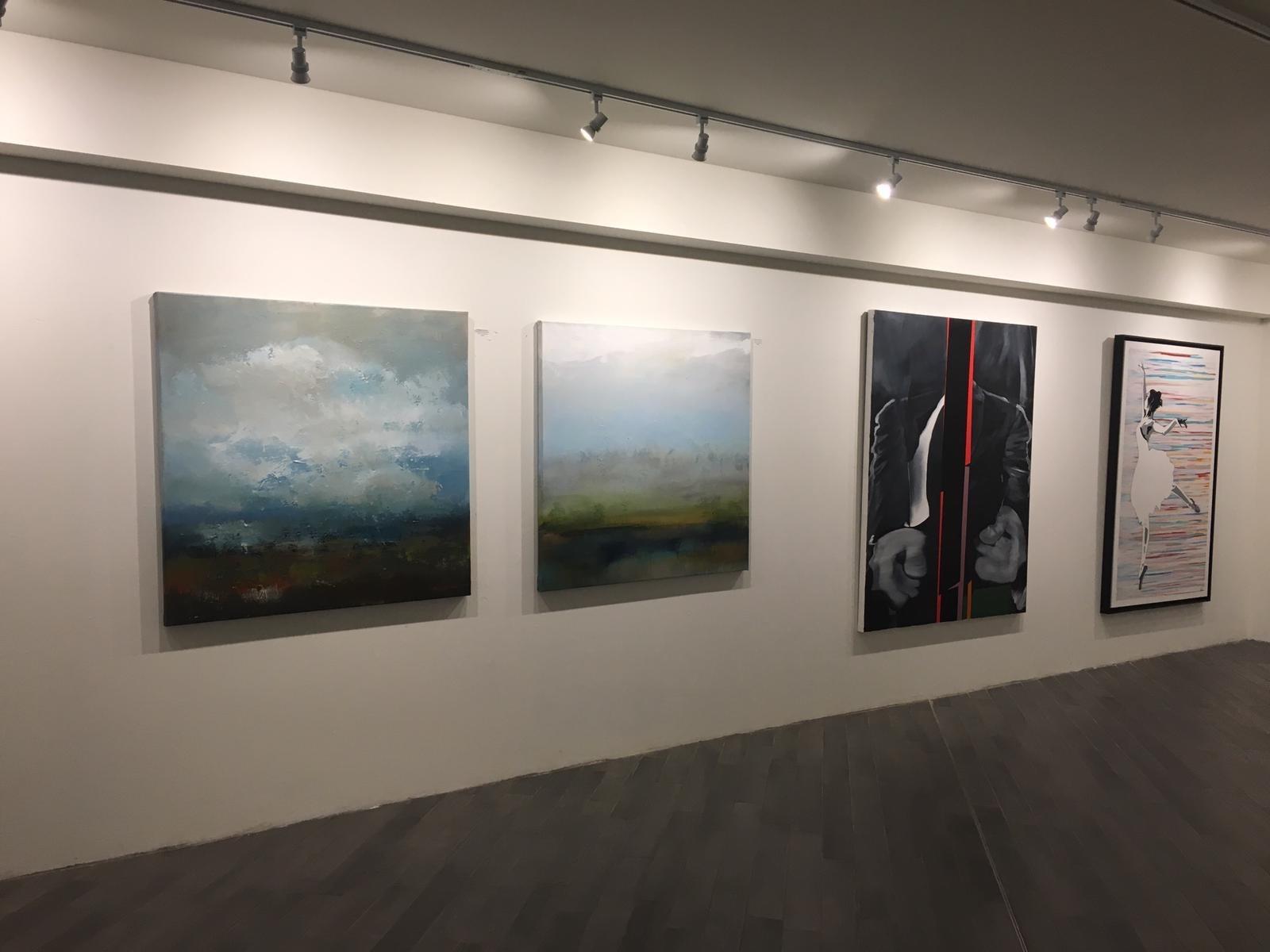 Works on exhibit in Dublin, Ireland