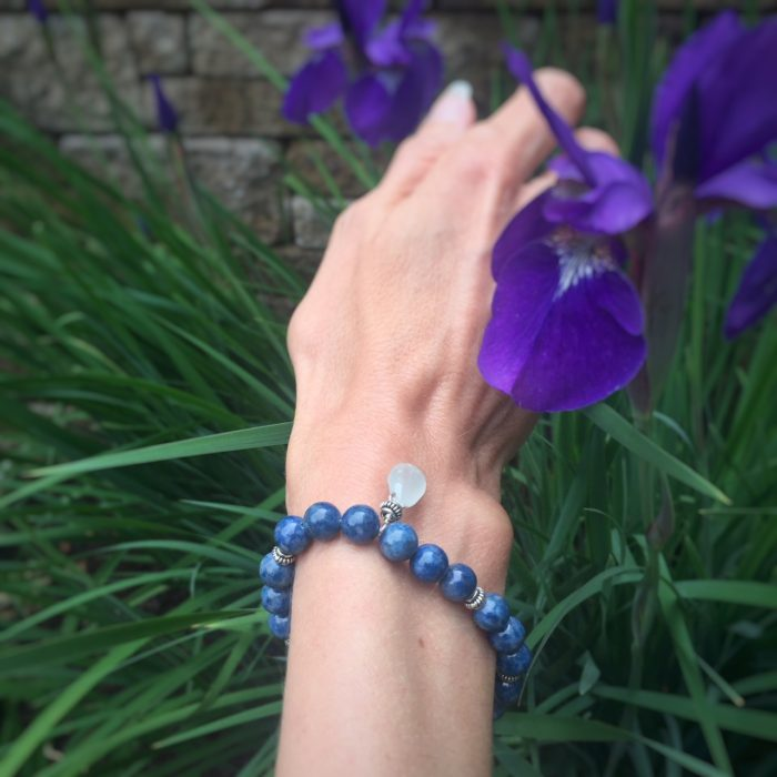 lapis bracelet w toggle