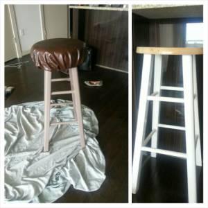 DIY: Upholstered Stool