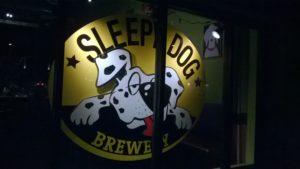 SLEEPY Dog Logo
