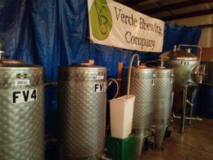 VERDE Brewing Fermentation Tanks