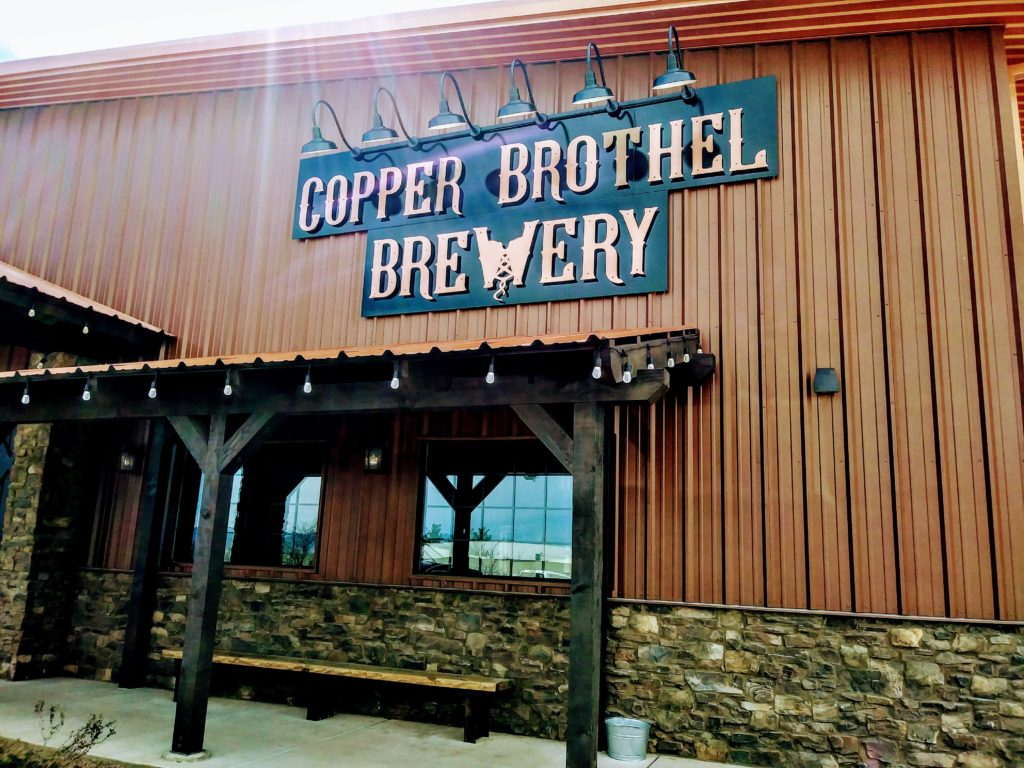 COPPER Brothel Exterior Sign