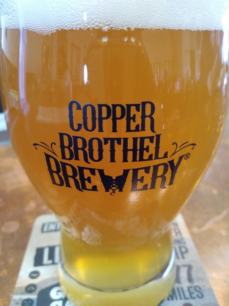 COPPER Brothel Maggie Mae Gold Ale