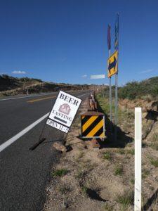 BARNSTAR Iron Springs Road Sign