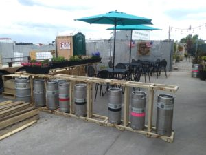 HISTORIC Taproom Patio
